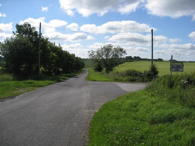 Passing by Orgarth Hill Farm