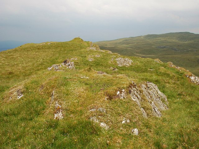 Small hill and cairn