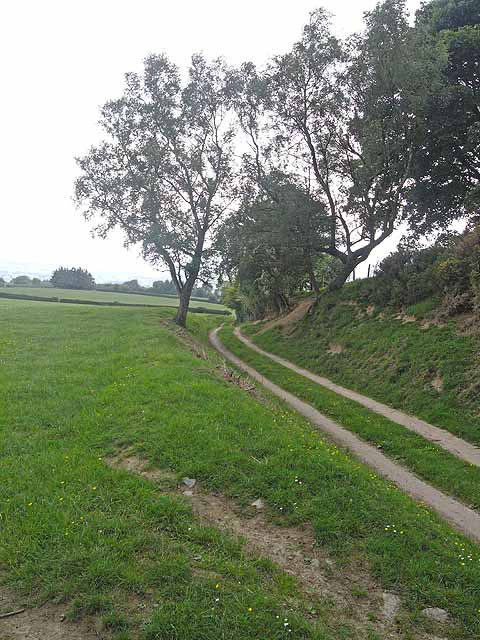 Offa's Dyke Path at Crows Nest