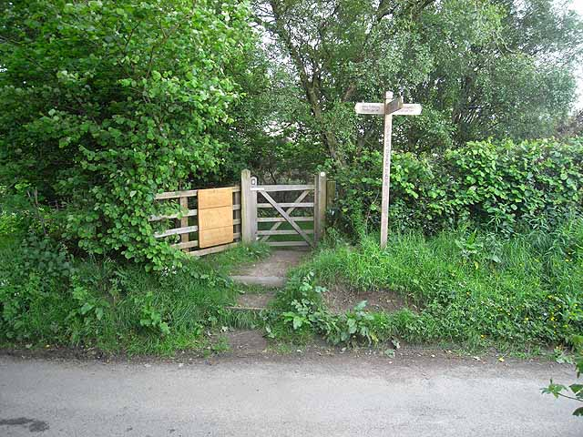 Offa's Dyke Path near Crows Nest