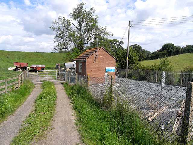 Sewage works at Chirbury
