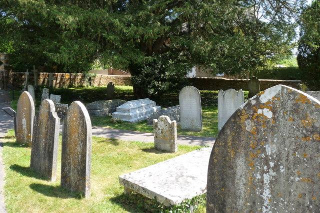 Graves at St.Michael's, Stinsford, Dorset