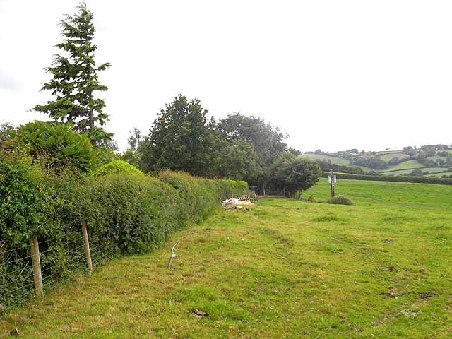 Field below Warbury