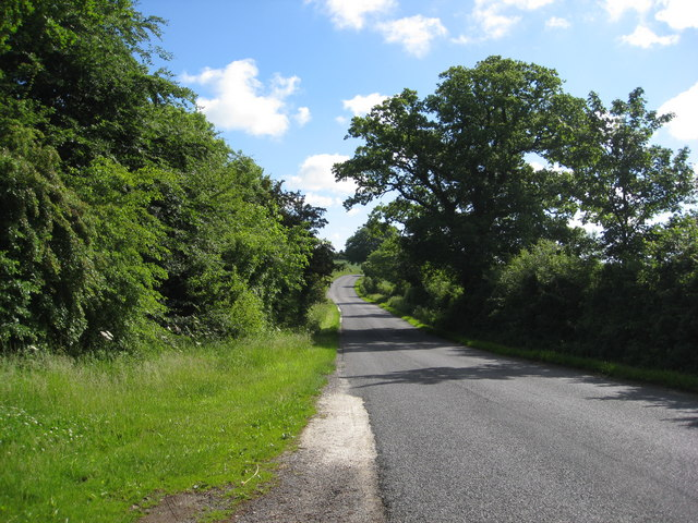 Pull in on road approaching Waterhen Cottages entrance
