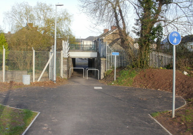 Underpass from Glebelands to Charnwood Road, Newport