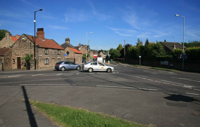 Road Junction on the B6067 Aston