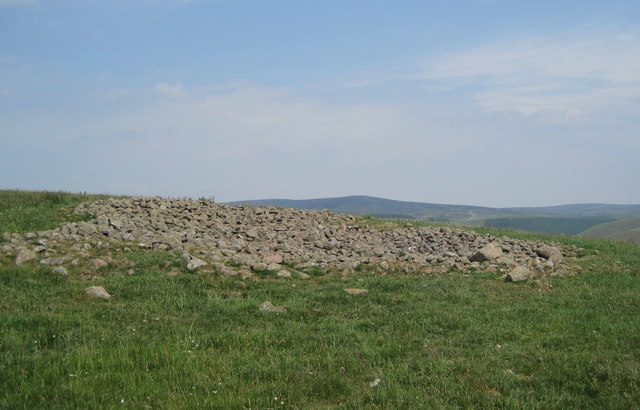 Stone heap on Ditcher Law