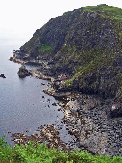Cliffs below Ard Beag