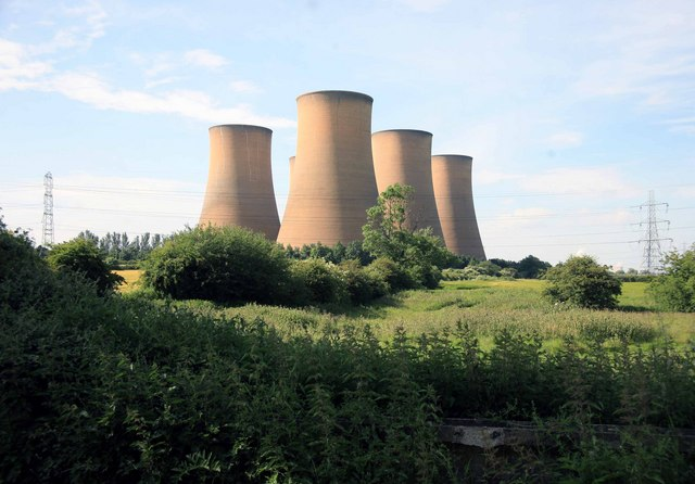 Cooling towers at High Marnham