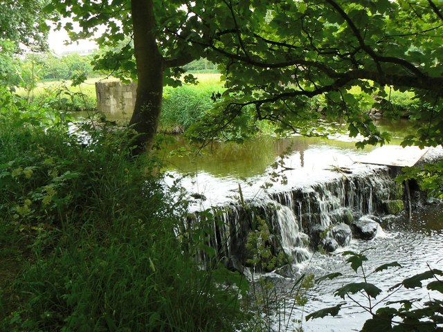 Weir on the Annick Water