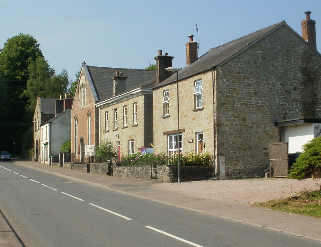 Three houses, Folly Road, Parkend