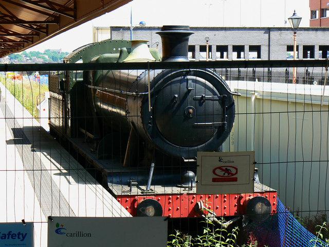 Static locomotive, Moor Street Station, Birmingham
