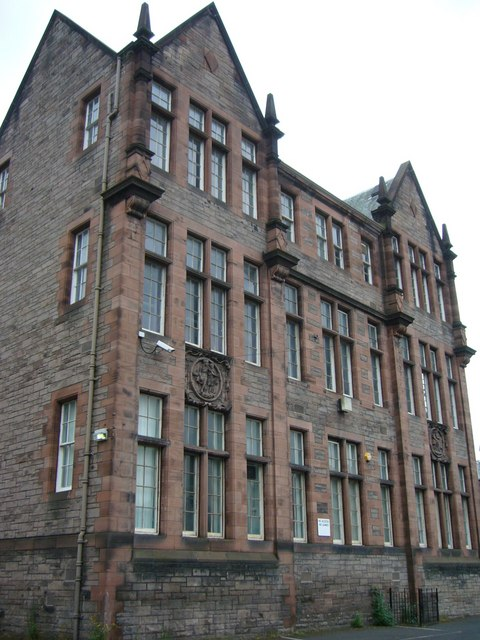 Old Darroch School off Gilmore Place