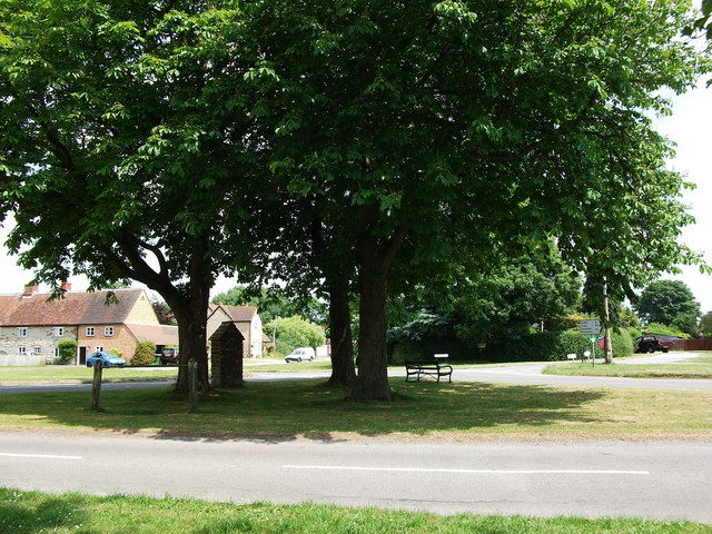 The village green at Little Kineton