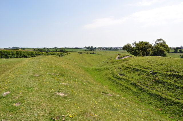 The Massive Ramparts and Ditches