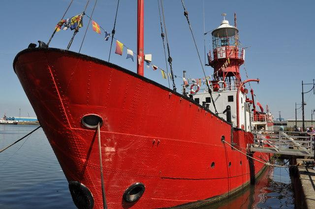 Heliwick light ship, Roath basin