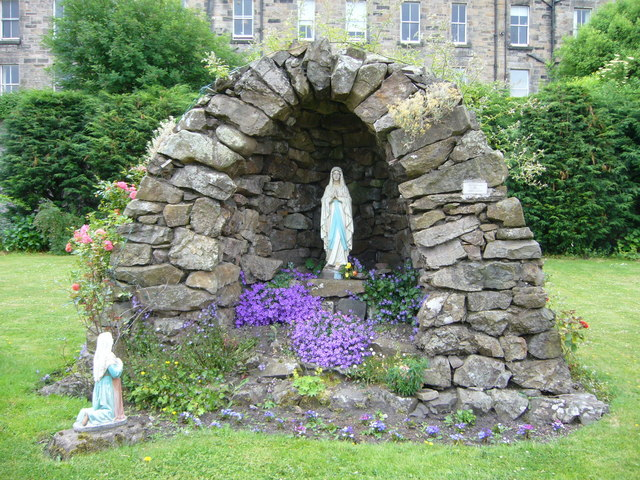 Catholic grotto off Gilmore Place