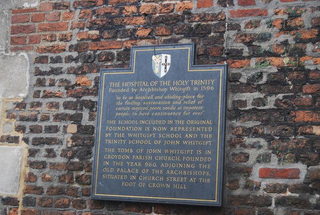 The Hospital of The Holy Trinity, Croydon