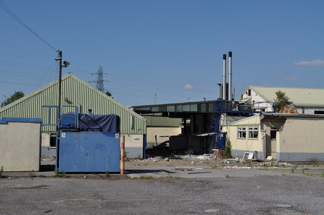 The now derelict Cardiff Dairy