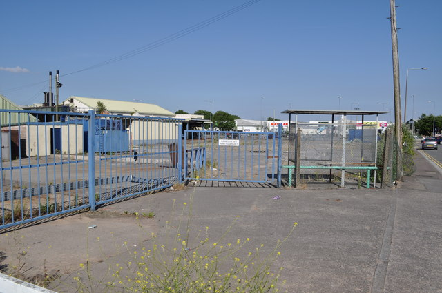 The now derelict Cardiff Dairy site
