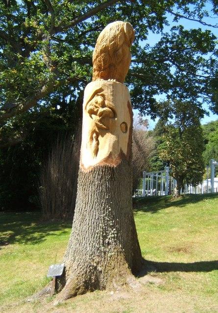 Owl Tree Sculpture