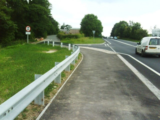 A66 by Chapel Wood west of Appleby