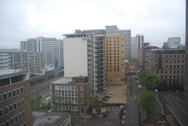 View across Croydon