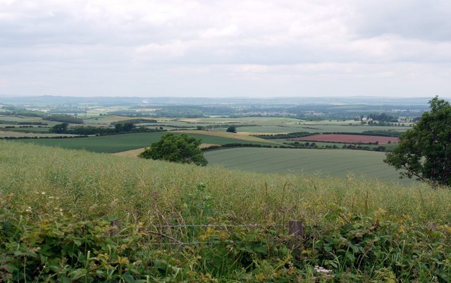 Flodden Battlefield from the east side of Branxton Hill
