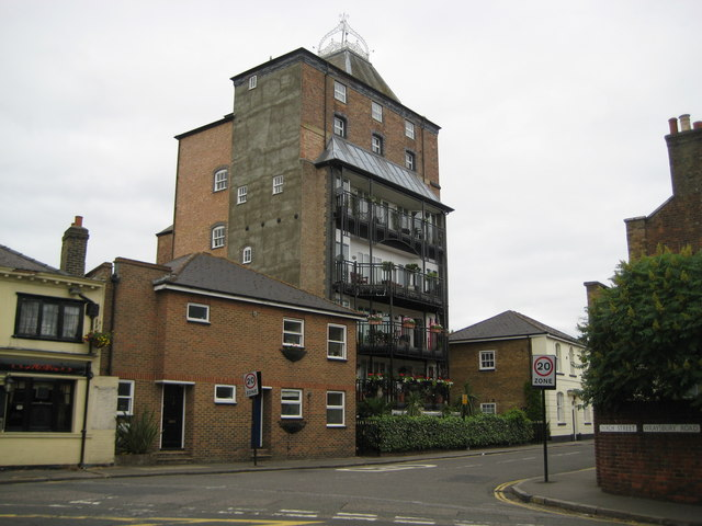 Staines: Former Ashby's Brewery
