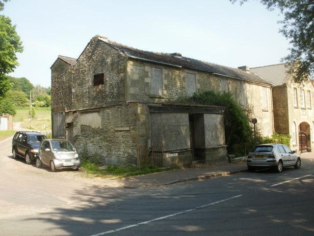 Derelict building, Folly Road, Parkend