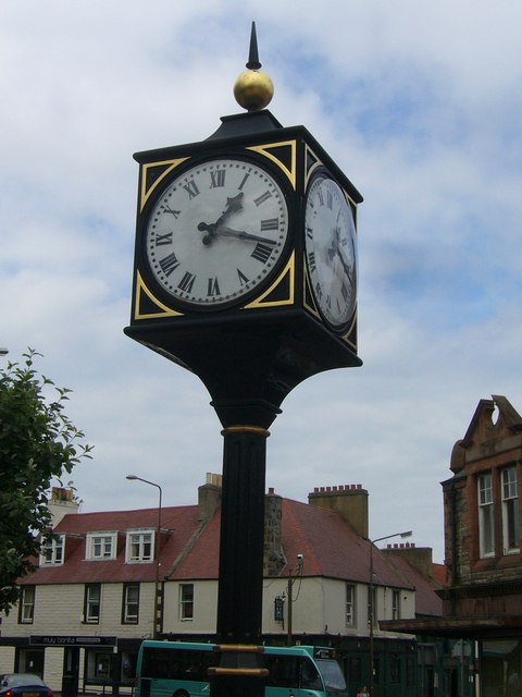 Tranent town clock