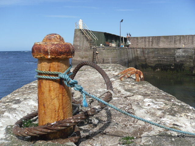 The Harbour Mouth, Burnmouth Outer Harbour