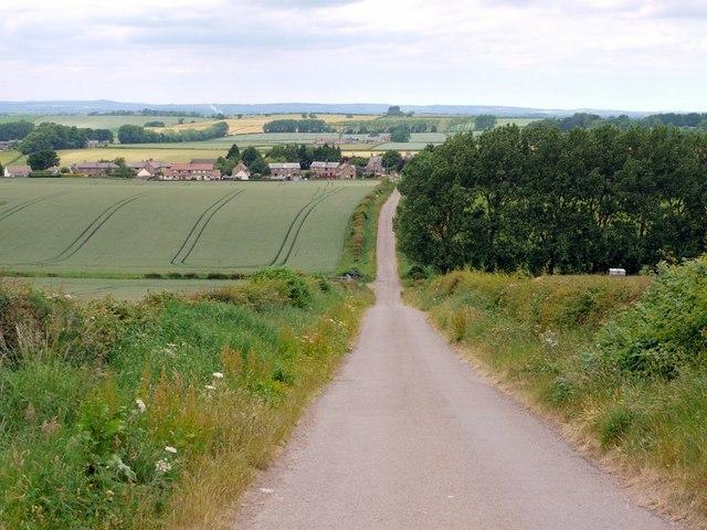 Minor Road to Branxton