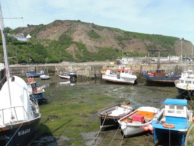 Burnmouth Inner Harbour
