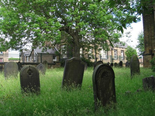 Elsecar - school from churchyard