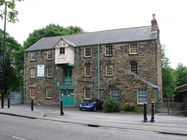 Elsecar - flour mill on Wath Road