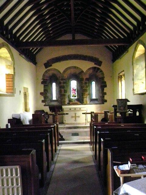 St Leonard's Farlington - interior