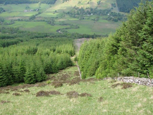 The north end of Beinn an t-Sidhein