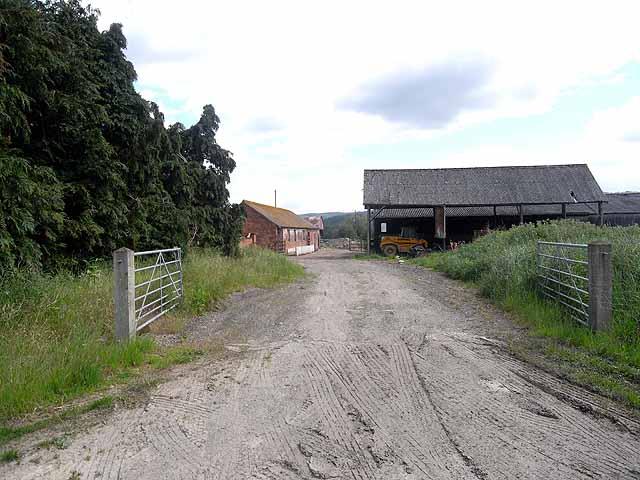 Farmyard at Caeprior