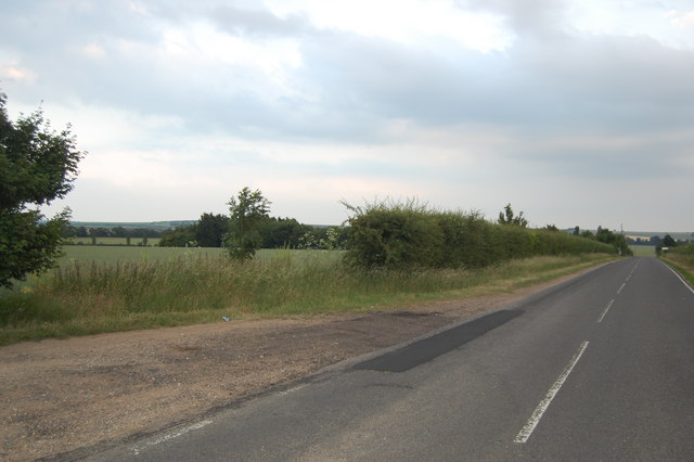 View from the Thriplow Road