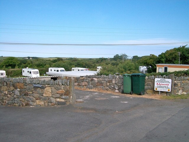 The Mownt Caravan and Camping Park, Ceidio