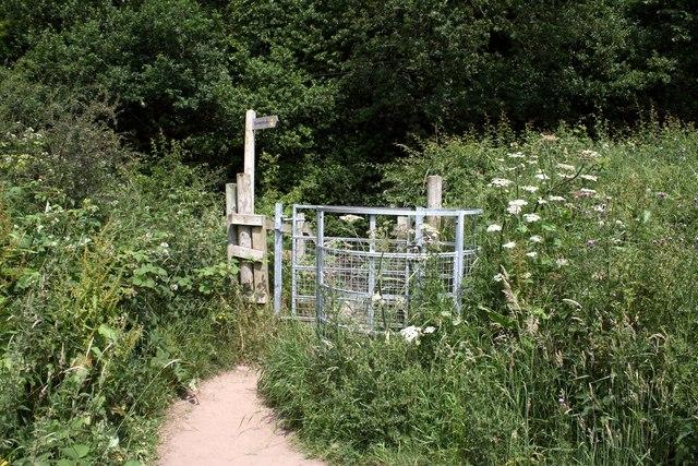 The Sandstone Trail at Beeston, Cheshire