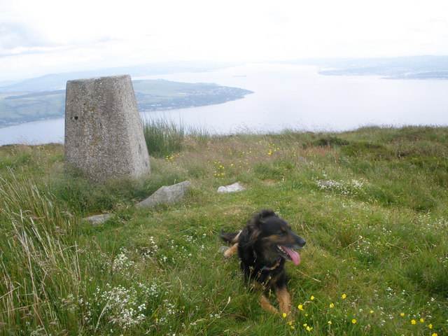 Trig Point Strone Hill