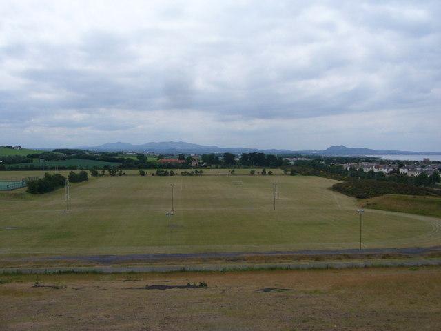Prestonpans battlefield site looking westwards