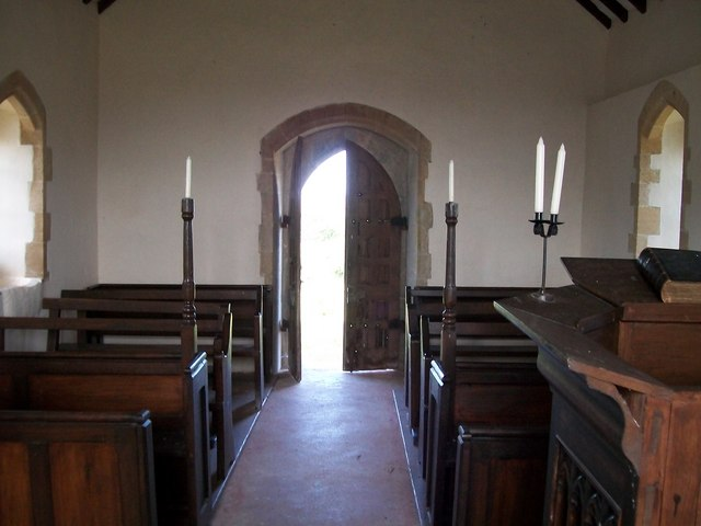 A celebrant's view of Eglwys Ceidio Sant