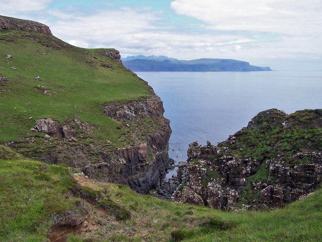 Cliffs at Idrigill Point