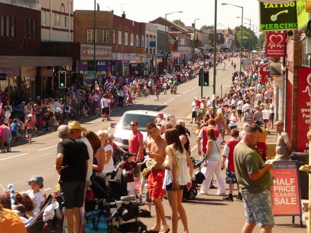 Winton: carnival crowds