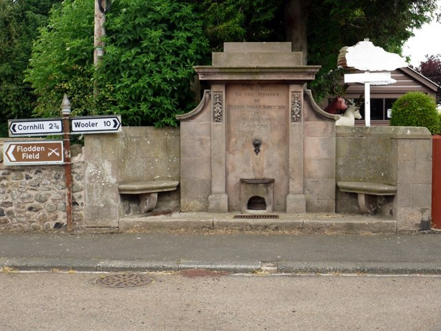 Memorial Drinking Fountain, Branxton