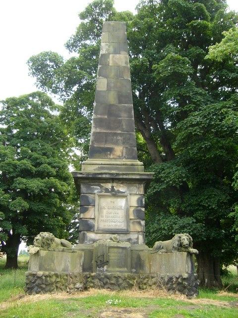 Colonel Gardiner's Monument, Bankton House