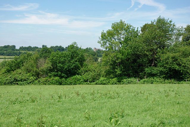 View towards Turners Hill church